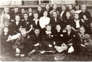 1946 год.  1 курс.