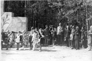 Митинг на кладбище 9 мая.