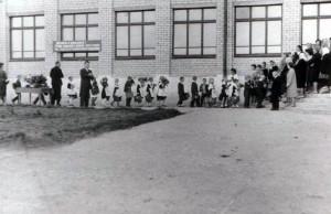 1965 год Торжественная линейка 1 сентября