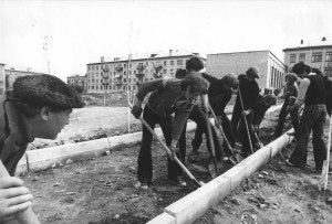 1978 годв Благоустройство школы