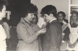 1986 год Максимова А. Г., Щербаков Дмитрий