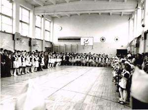 общешкольная линейка на 1 сентября