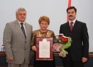2008 год Вручение Гранта Президента РФ