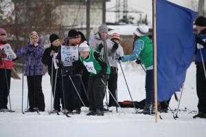 2013 год День здоровья Лыжная эстафета