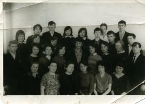 Первый выпуск средней школы № 8 1967 год.