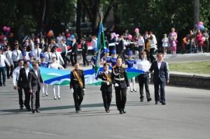 Кадеты- учащиеся Школы №4.