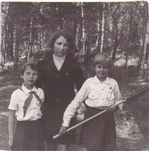 Ерошкина Т.С.  с классом в походе